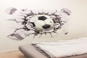 הדפסת ציורי קיר ותוכן גרפי על גבי קירות